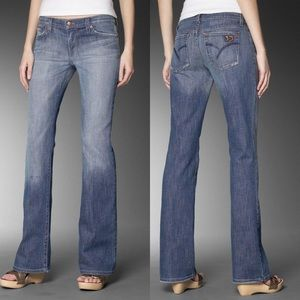 NWT Joe's Jeans Socialite Credence mid rise flare